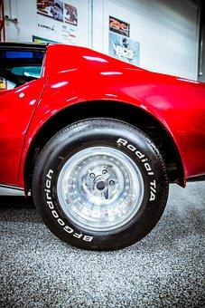 Corvette, Classic, Vintage, Auto, Chevy, Chevrolet