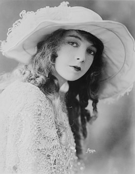 Actress, Woman, Silent Film, Portrait, Lillian Gish