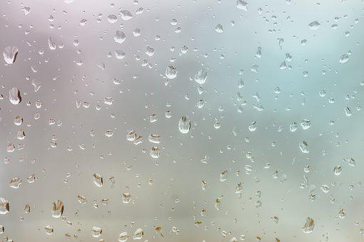 Water Drops, Background, Rain, Water, Drops, Raindrops