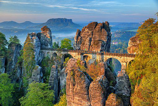 Bastei Bridge, Saxon Switzerland