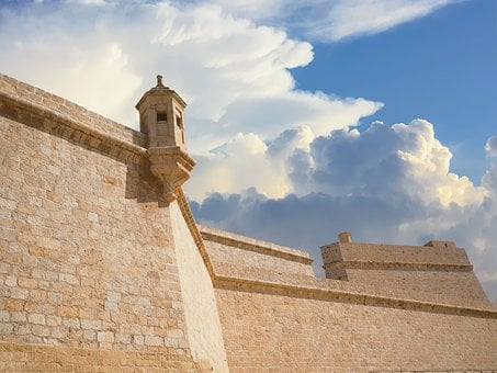 Fort St Angelo, Malta, Birgu, Valletta, Europe