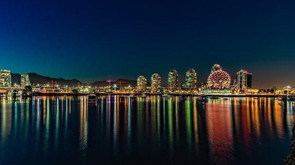Bay, Blue, British, Brutish, Building, Canada, City