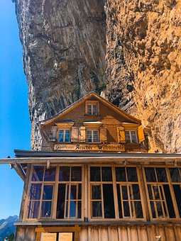 Cabin, Mountain, Appenzell