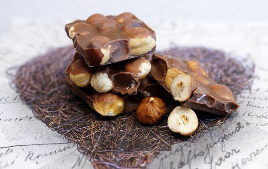 Chocolate, Nut Chocolate, Sweet, Nibble, Chocolate Bar