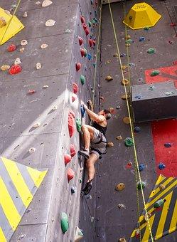 Climb, Climbing, Rock Climbing, Sport, Strength, Rock