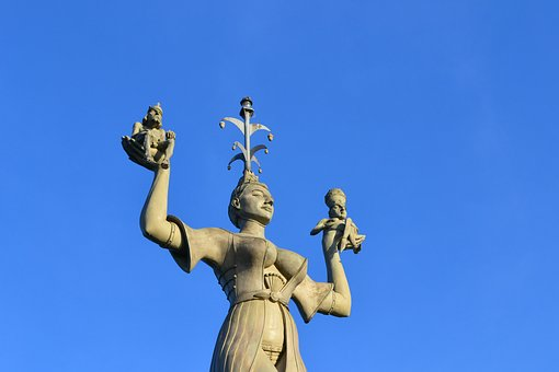 Imperia, Concrete, Constance, Lake Constance, Figure