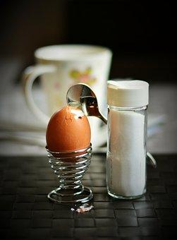 Egg, Hen's Egg, Breakfast Egg, Salt Shaker, Salt