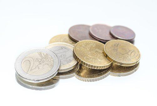 Money, Euro, Coins, Currency, Finance, Cash, Financial