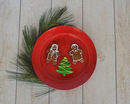 Food, Cookies, Sweet, Delicious, Christmas