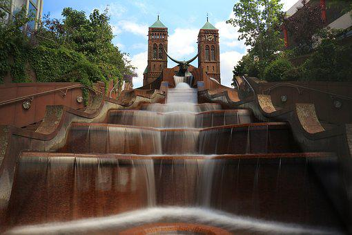 Fountain, Water, Flow, Decorative Fountains