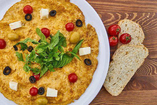 Omelet, Breakfast, Yellow, Egg, Fresh, Health