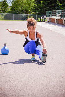 Girl, Pistol Squat, Fit, Strong, Strength, Workout