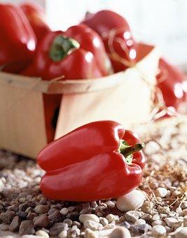 Green Peppers, Vegetables, Pepper, Red, Garden