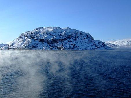 Norway, Sea, Ice, Rock, Scandinavia, Water, Norwegian