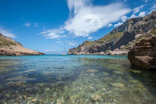 Cala Figuera, Mallorca, Summer, Mediterranean, Sea
