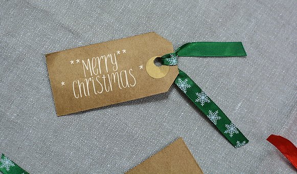 Christmas, Label, Merry, Holiday, Xmas, Decoration