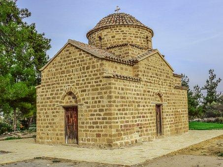 Cyprus, Potamia, Church, Architecture, Monument