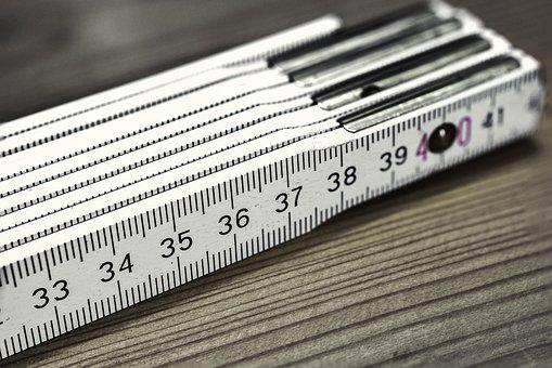 Folding Rule, Bers Scale, Meter, Centimeters, Number