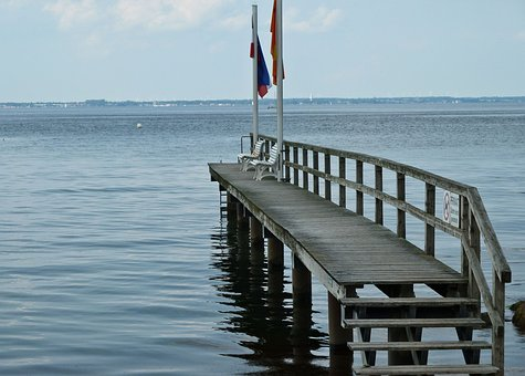 Water, Sea, Web, Baltic Sea, Pier, Boardwalk, Planks