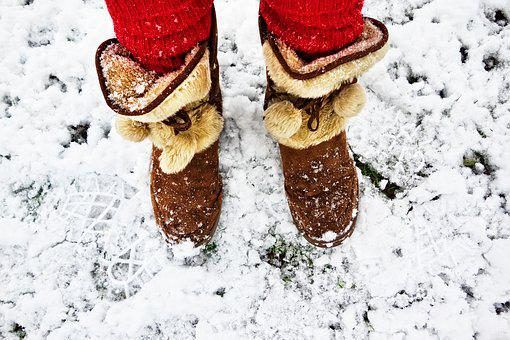 Plush Boots, Winter Boots, Women's Boots, Warm