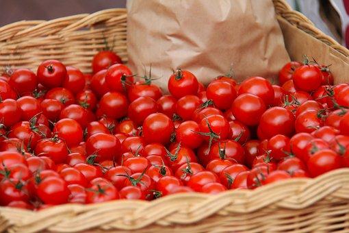 Cherry Tomato, Tomato, Red, Juicy, Sweet, Porvoo