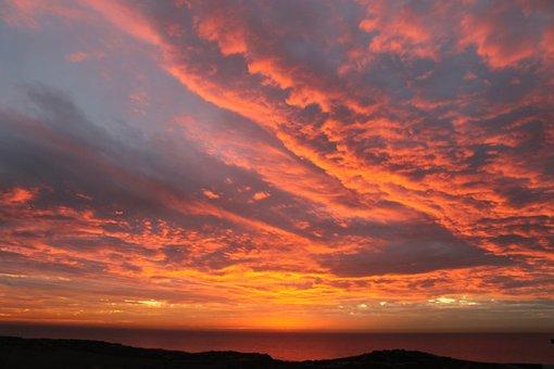 Sky, Red, Vanilla, Sunset