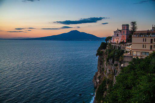 Amalfi Coast, Italy, Mediterranean, Tourism, Sea