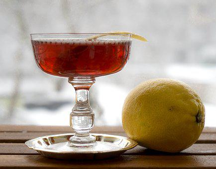 Cocktail, Cocktails, Lemon, Classy, Class, Whiskey