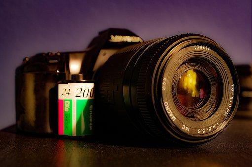 Lens, Aperture, Zoom, Tele Image, Cam, Camera, Film