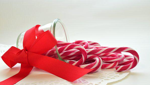 Sugar, Candy Canes, Sweet, Delicious, Treat, Food