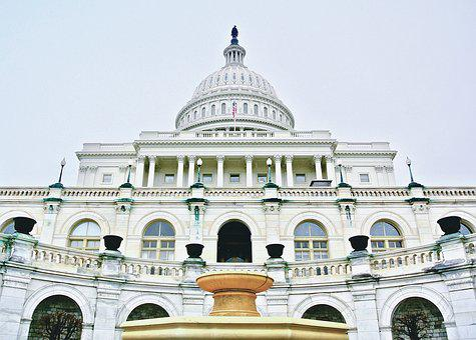 Capitol, Usa, Washington, City, Sky, Urban