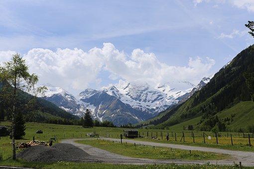 Austria, Big Bell Street, Cars, Motorbikes