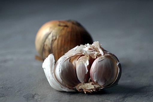 Garlic, Onion, Health, Antibiotic, Get Sick, Cure