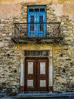 House, Abandoned, Decay, Architecture, Neoclassic
