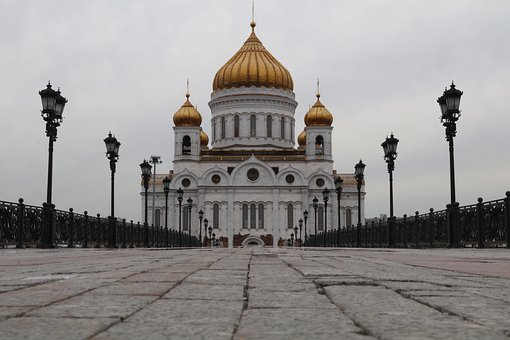 Architecture, Travel, City, Religion, Dome, Russia