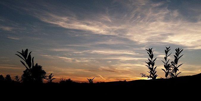 Landscape, Sunset, Dusk, Nightfall, Nature, Mood, Sky