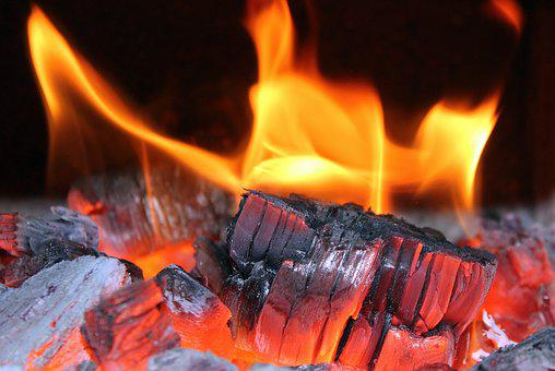 Fire, Fireplace, Wood, The Flame, Hot, Red, Glow, Light