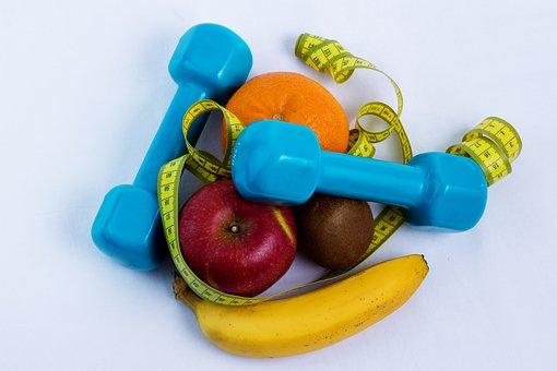 Dumbbell, Fruit, Sport, Training, Strength Training