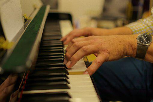 Piano, Instrument, Hands, Choir, Play Piano, Music