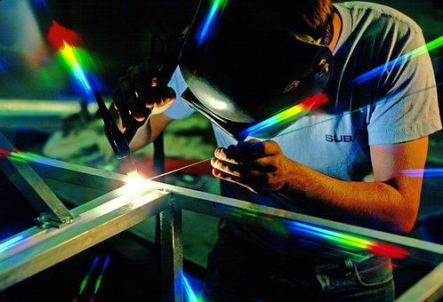Welder, Welding, Work, Labor, Job, Car, Industry