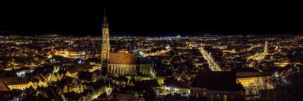 City, Old Town, Landshut, Architecture, Building