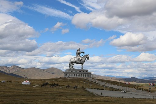 Sky, Landscape, Mountain, Travel, Cloud, Mongolia