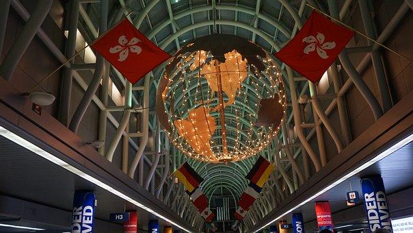 Airport, World, Chicago, O'hare, Globe