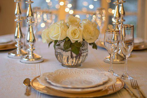 Table, Place Setting, Dinner, Setting, Place, Plate