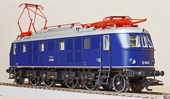 Electric Locomotive, Quick Driving Locomotive