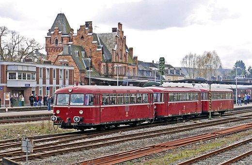 Railbus, In Three Parts, Vt98, Railway Station