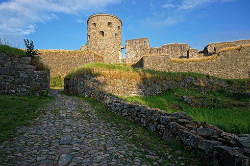 Castle, Ruin, Middle Ages, Mystical, Knight's Castle