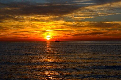 Baltic Sea, Coast, Sea, Germany, Sky, Water
