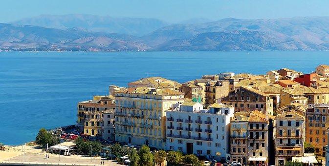Corfu, Travel, Greece, Island, Tourism, Landscape