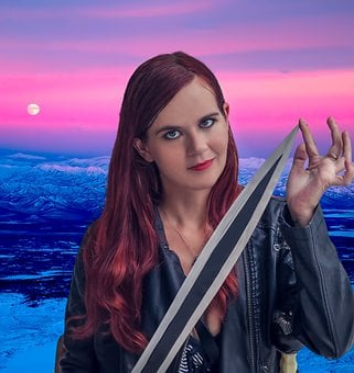 Girl, Anita Rose, Warrior, Model, Sword Fighter